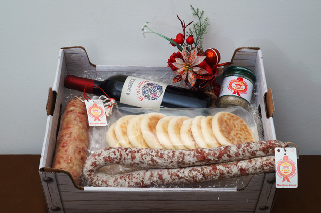 Cesto di Natale Antichi Sapori - Macelleria Antoni