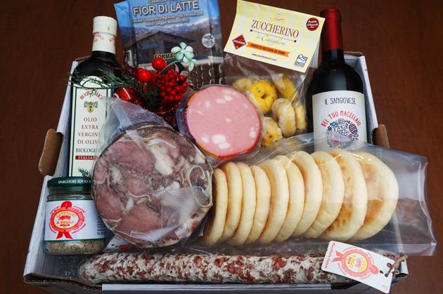 Cesto di Natale Gastronomo - Macelleria Antoni